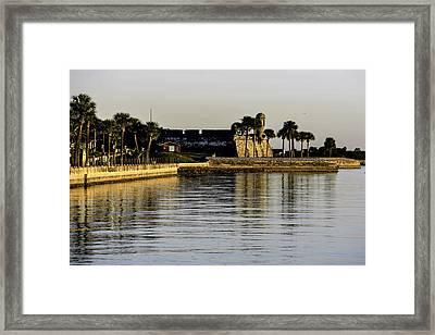 Castillo De San Marcos Framed Print