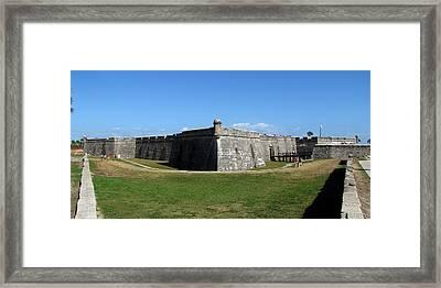 Castillo De San Marcos Framed Print by Keith Stokes