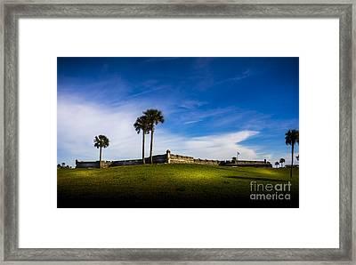 Castillo De San Marcos Framed Print by Marvin Spates
