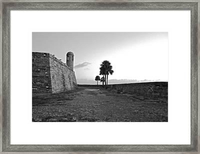 Castillo De San Marcos View 2 Framed Print