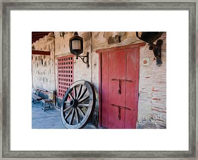 Castillo San Felipe De Barajas Fort I Framed Print by Kenneth Montgomery