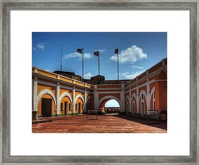 Castillo San Felipe Del Morro 004 Framed Print by Lance Vaughn