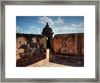 Castillo San Felipe Del Morro 005 Framed Print by Lance Vaughn