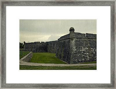 Castillo San Marcos 5 Framed Print by Laurie Perry