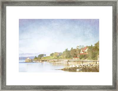 Castine Harbor Maine Framed Print by Carol Leigh