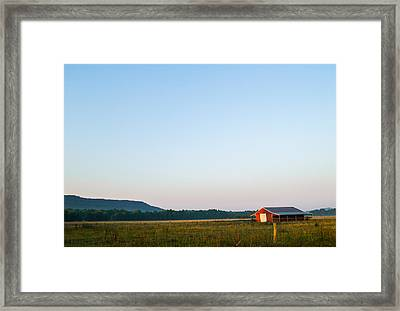 Casting Shadows Framed Print by Shelby  Young