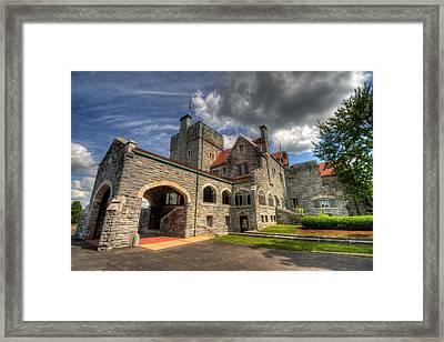 Castle Administration Building Framed Print
