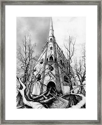 Castle At 600 Framed Print