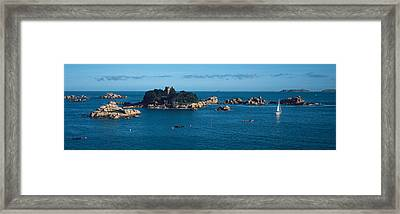 Castle At The Coast, Costaeres Castle Framed Print