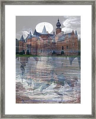 Castle Book Cover Illustration Framed Print