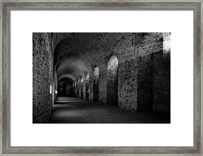 Castle Cellar Framed Print by Karl Greeson