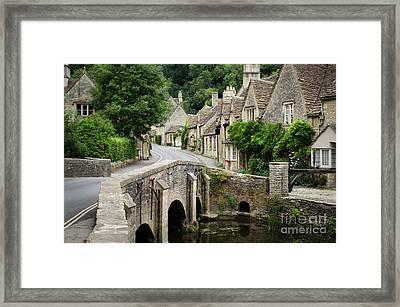Castle Combe Cotswolds Village Framed Print
