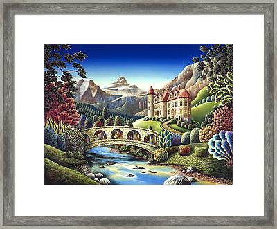 Castle Creek Framed Print by Andy Russell