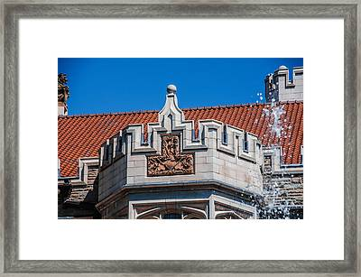 Castle Crown Framed Print by AMB Fine Art Photography