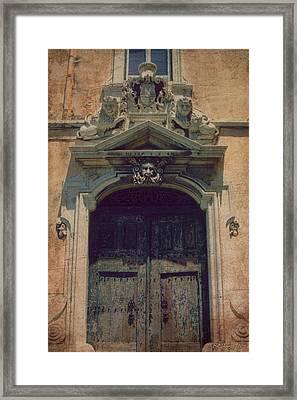 Castle Door Framed Print by Bill Jonas
