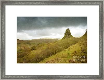 Castle Ewen. Scottish Highland Landscape Framed Print