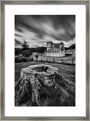 Castle Fraser Framed Print by Dave Bowman