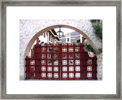 Castle Gate Framed Print