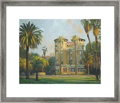 Castle Green - Pasadena Framed Print