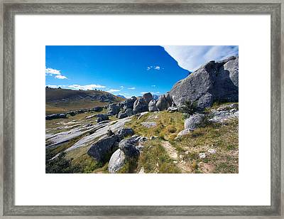 Framed Print featuring the photograph Castle Hill #4 by Stuart Litoff