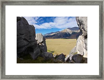 Framed Print featuring the photograph Castle Hill #5 by Stuart Litoff