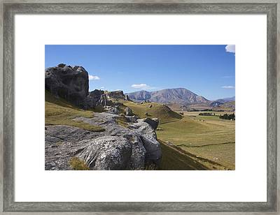 Framed Print featuring the photograph Castle Hill #6 by Stuart Litoff