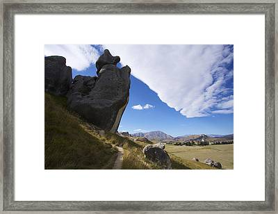 Framed Print featuring the photograph Castle Hill #7 by Stuart Litoff