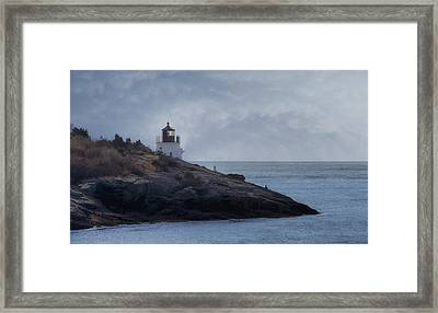 Castle Hill Dream Framed Print by Joan Carroll