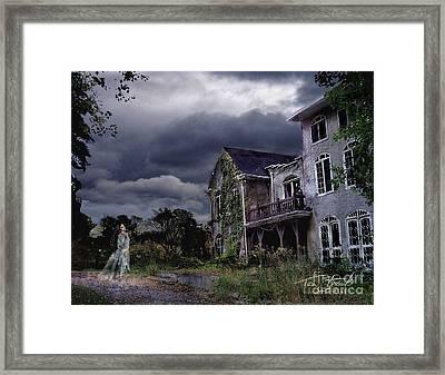 Castle House Framed Print by Tom Straub