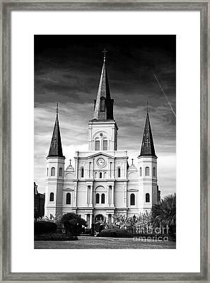 Castle In Orleans Framed Print by John Rizzuto