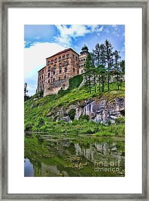 Castle In Pieskowa Skala Framed Print