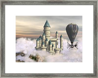 Castle In The Clouds 2 Framed Print