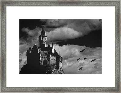 Castle In The Sky Framed Print by Bob Orsillo
