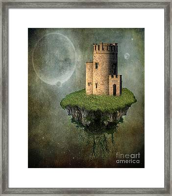 Castle In The Sky Framed Print by Juli Scalzi