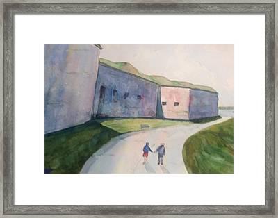 Castle Island Framed Print by Pat Steiner