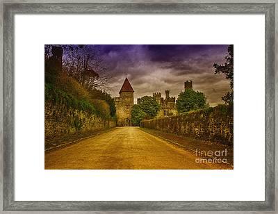 Castle Framed Print by Jacek Niewiadomski