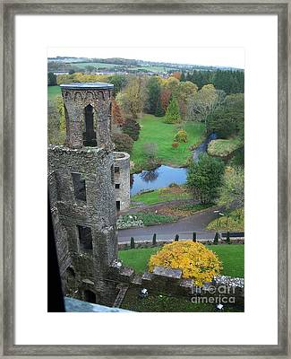 Framed Print featuring the photograph Castle Keep by Marilyn Zalatan