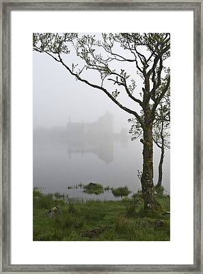 Castle Kilchurn Tree Framed Print