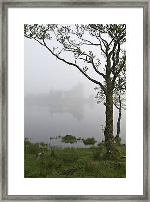Castle Kilchurn Tree Framed Print by Gary Eason