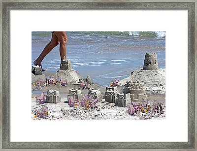 Castle Kingdom  Framed Print by Betsy Knapp