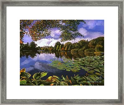 Castle Lake Framed Print by David Lloyd Glover