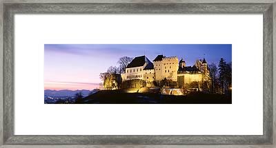 Castle Lenzburg, Switzerland Framed Print