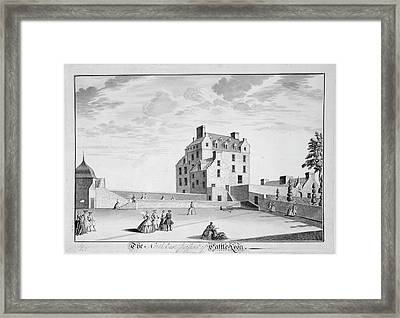 Castle Lyon Framed Print by British Library
