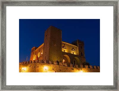Castle Magic Framed Print