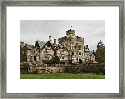 Hatley Castle Framed Print by Marilyn Wilson
