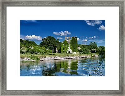 Castle Menlo  Framed Print by Juergen Klust
