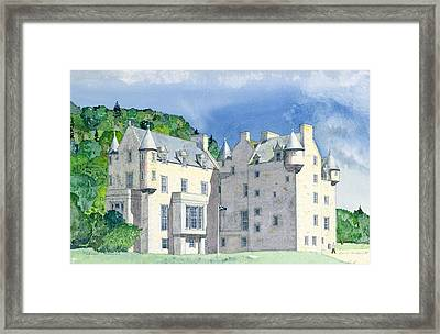 Castle Menzies Framed Print by David Herbert