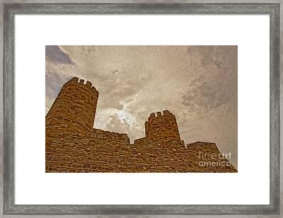 Castle  Framed Print by Nur Roy