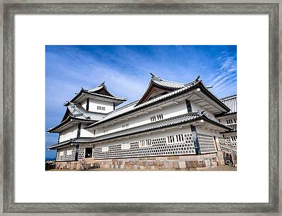 Castle Of Japan Framed Print