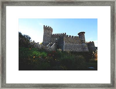 Castle Of Love Framed Print by Laurie Search